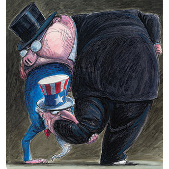 Wall St and Uncle Sam