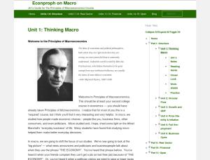 Econproph on Macro screenshot